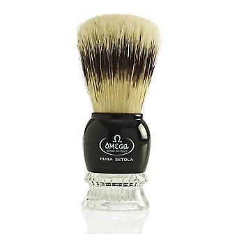 Omega 10275 Pure Bristle Shaving Brush