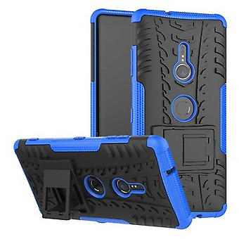 Hybrid case 2 piece SWL robot blue for Sony Xperia XZ3 bag case cover protection