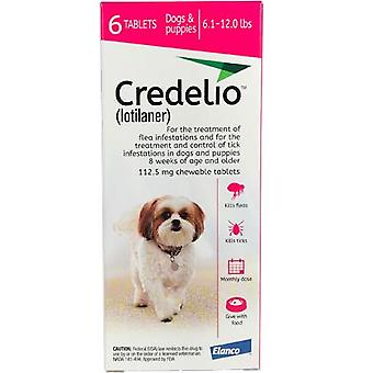 Credelio Pink Small Dogs 6.1-12 lbs (2.5-5 kg) 6 Pack