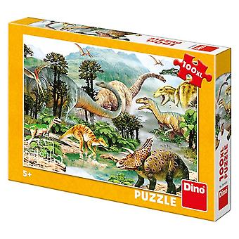 Dino puzzle life of a dinosaur XL