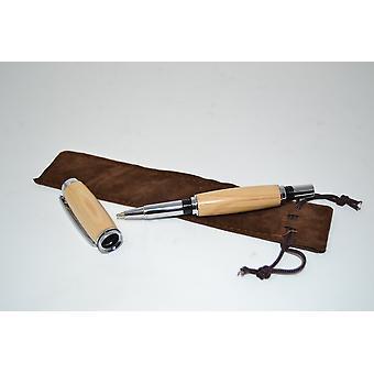 Madeira esferográfica caneta Rollerpen feito de madeira caneta vida da árvore artesanal caneta esferográfica presente presente idéia única