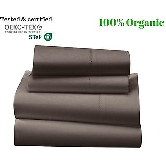 1000 Tc-100% Egyptian Cotton Bed Sheet Set-taupe
