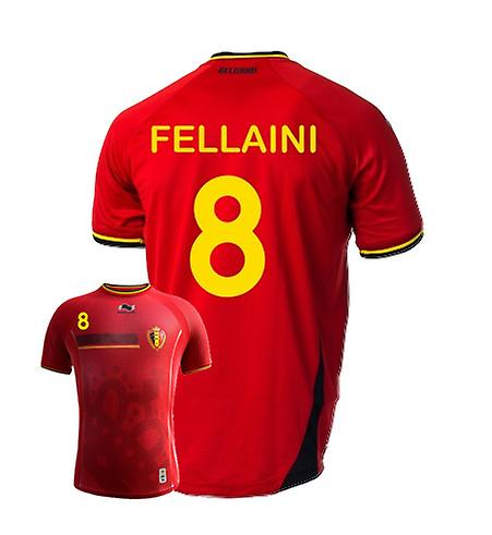 2014-15 Belgium World Cup Home Shirt (Fellaini 8)