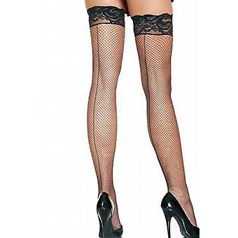 Waooh - Lingerie - down nylon FishNet and lace