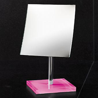 Gedy Rainbow Magnifying Table Mirror  Pink RA2018 76Z