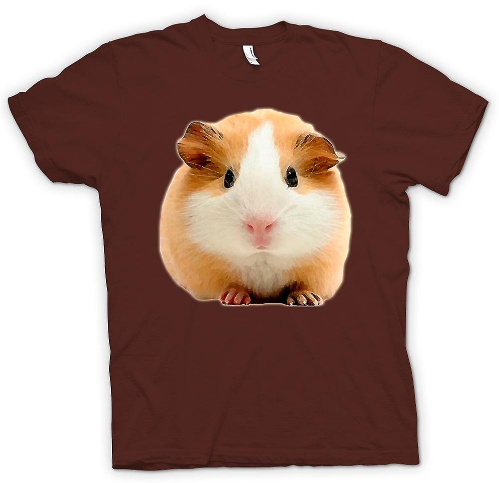 Mens T-shirt - Guinea Pig 1 - Pet animal