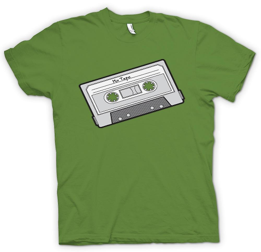 Mens T-shirt - Oldschool Cassette Tape