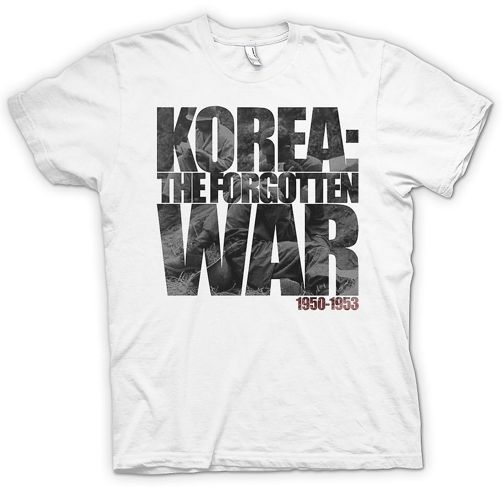 Mens T-shirt - Korea - The Forgotten War 1950 - 1953