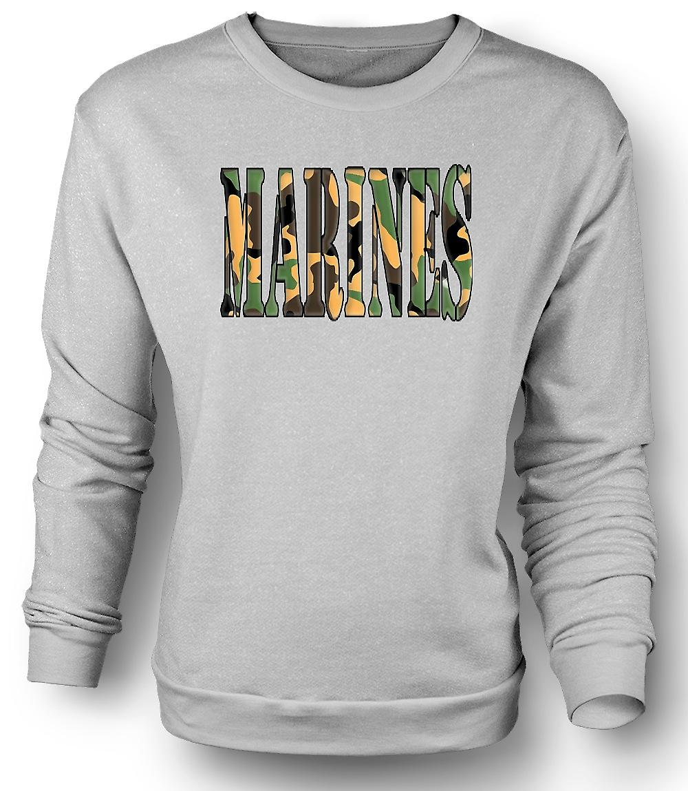 Mens Sweatshirt Marines Elite