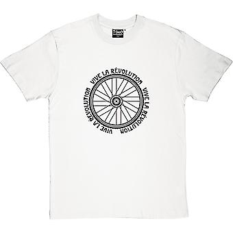 Vive le Revolution (Bicycle) Men's T-Shirt
