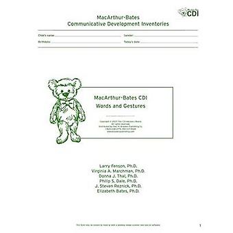 MacArthur Communicative Development Inventories (CDIs) - Words and Ges
