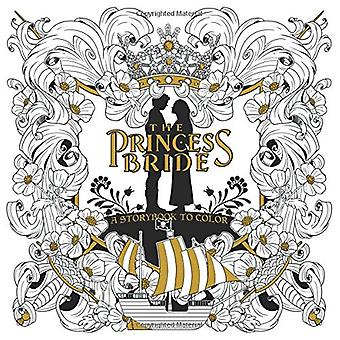 Princess bruden - en sagobok till färg av Rachel Curtis - 978163140