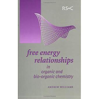 Relations d'énergie libre en chimie organique et Bio-organique