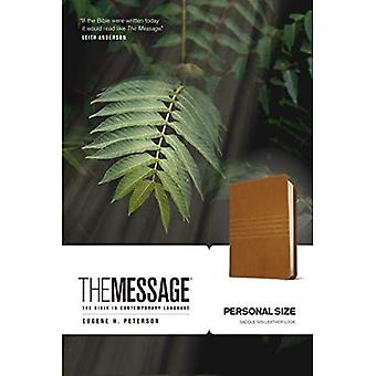 The Message, Personal Size, Saddle Tan. Leather Look (The Message Bibles)