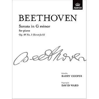 Sonate i G-mol, Op. 49 No. 1 (Sonate letkøbt): fra Vol. Jeg (Signature Series (ABRSM))