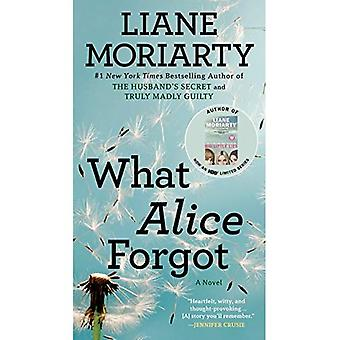 O que Alice tinha esquecido