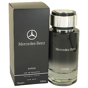 Mercedes Benz Intense by Mercedes Benz Eau De Toilette Spray 4 oz / 120 ml (Men)