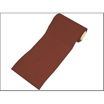 ALUMINIUM OXIDE PAPER ROLL RED HEAVY-DUTY 115 MM X 50M 60G