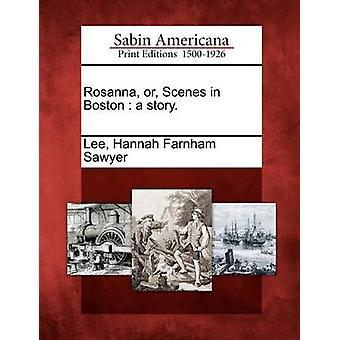 Rosanna or Scenes in Boston  a story. by Lee & Hannah Farnham Sawyer