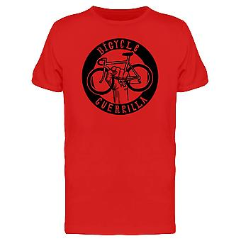Bicycle Guerrilla Graphic Tee Men's -Image by Shutterstock