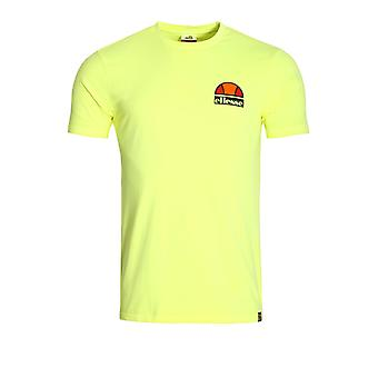 Ellesse Cuba T-Shirt | Neon Yellow