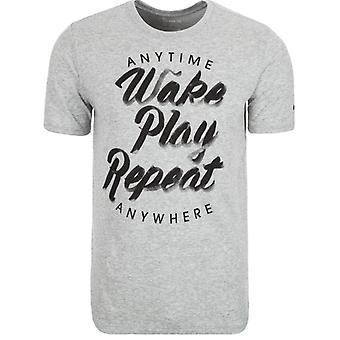 Nike Wake Play Repeat Tee (Grey)