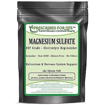 Magnesium Sulfate - Heptahydrate USP Grade - Epsom Salt Crystalline Granular