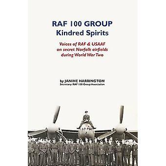 RAF 100 Group - Kindred Spirit by Janine Harrington - 9781786123978 Bo