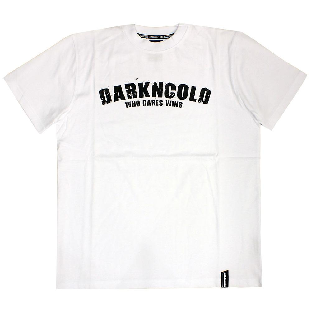 Dark n Cold Who Dares Wins Basic T-shirt White