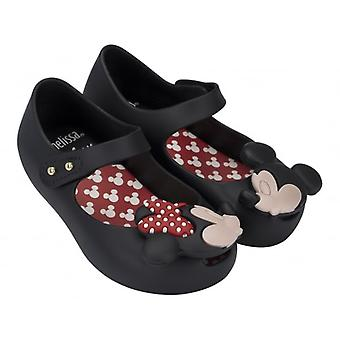 Melissa Shoes mini Ultragirl Minnie Mouse 15, negro