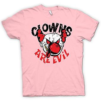 Kinder T-shirt - sind Clowns böse - lustig