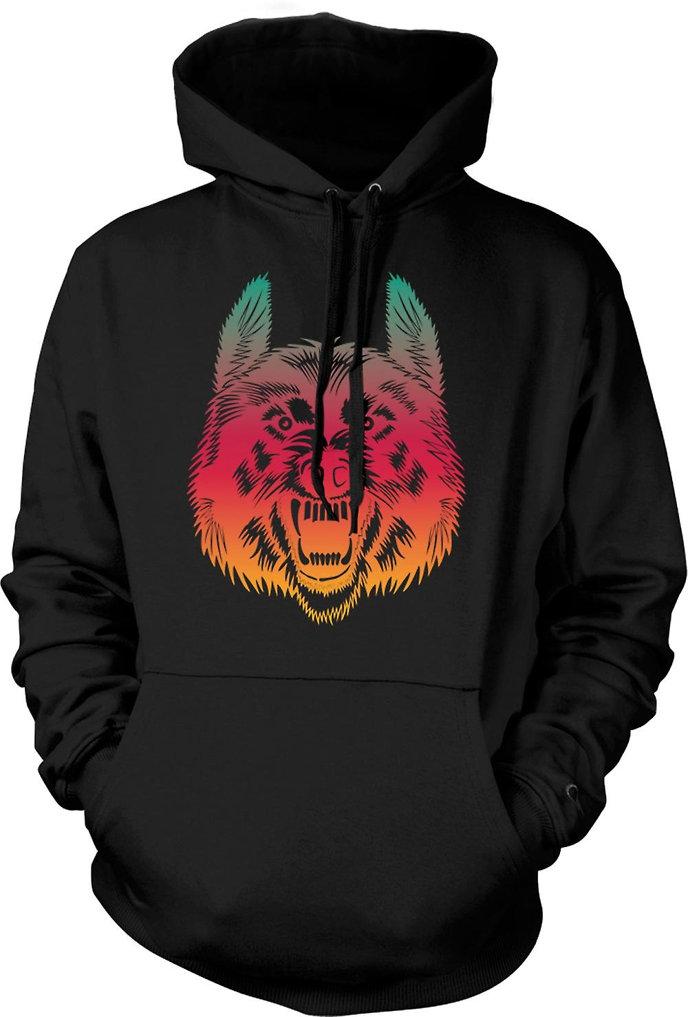 Mens Hoodie - Wanna Join My Wolf Pack - Funny