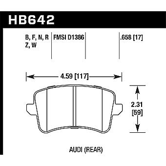 Hawk Performance HB642B.658 HPS 5.0