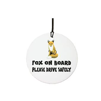 Fox On Board Car Air Freshener