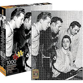 Million Dollar Quartet (Elvis, J. Cash) 1000 piece jigsaw puzzle  690mm x 510mm    (nm)