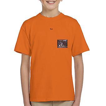 A.P.O.H Salvador Dali I Am Not Strange Quote Kid's T-Shirt