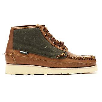 Sebago Seneca Mid Wool Mens Tan Boots