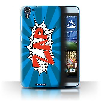 STUFF4 Case/Cover for HTC Desire 826/Zap/Comics/Cartoon Words
