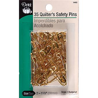 Quilter's Safety Pins-Size 2 35/Pkg 1465