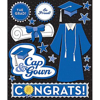 Life's Little Occasions Sticker Medley Blue Cap & Gown K623255