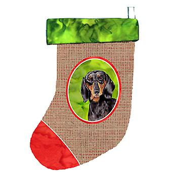 Carolines Treasures  SC1003-CS Dachshund Christmas Stocking SC1003