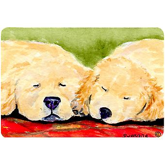 Golden Retriever Mouse pad, hot pad, or trivet