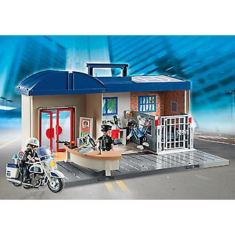Playmobil 5299 Briefcase Police Central