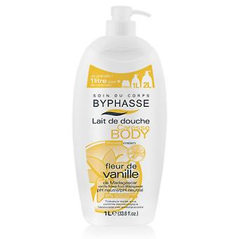 Byphasse Flower Shower Cream Vanilla 1L