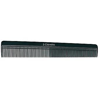 3 Claveles Acetate Cut comb 18 Cm (Woman , Hair Care , Combs and brushes , Combs)