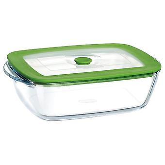 Pyrex Rectangular Container Lid 17X10X5 Plus 4In1