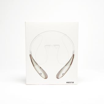 Wireless Stereo Sports Headset - White