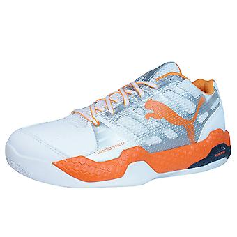 Puma Vindicate 1.2 Mens Indoor Sports Trainers / Shoes - White