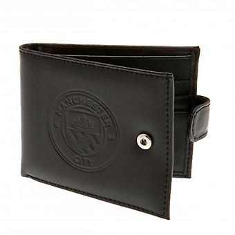 Manchester City Embossed Leather Wallet 805