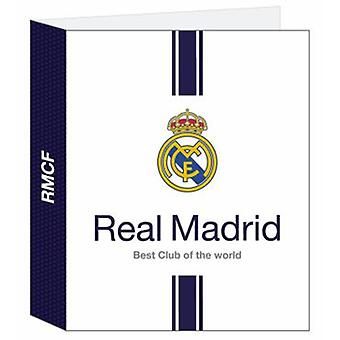 Real Madrid Folio folder 4 rings Lomo Ancho Real Mad